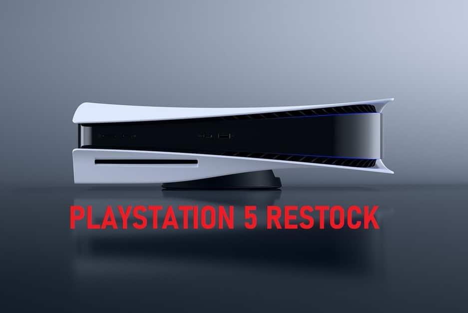 PlayStation 5 Restock Twitter Best Buy Amazon Tracker US Sony PS5